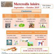 Mercredis Loisirs