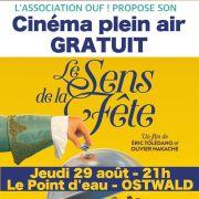 Cinéma de plein air : Le Sens de la Fête