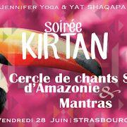 Soirée Kirtan : Cercle de chants Sacrés d\'Amazonie & Mantras