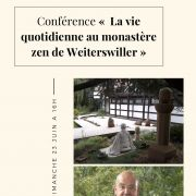 La vie quotidienne au temple boudhdiste zen de Weiterswiller