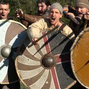 Déambulation de guerriers à Roeschwoog