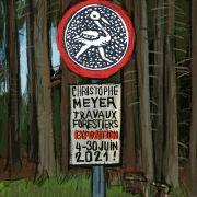 Travaux forestiers, exposition de Christophe Meyer