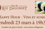 happy hour - vins et sushis