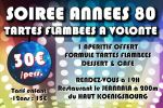 azur fm soiree annees 80 et tartes flambees a volonte
