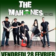 The Mahones (celtic rock) + FFR (celtic fiesta)