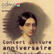 Concert lecture anniversaire : Clara Schumann