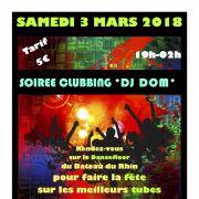 Soirée Clubbing DJ Dom