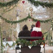 Noël 2018 à l\'Ecomusée d\'Alsace : visite des personnages de Noël - Hans Trapp et Christkindel