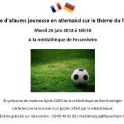 Lecture d\'albums jeunesse en langue allemande à Fessenheim