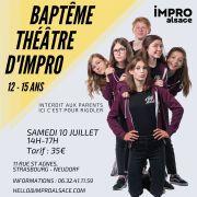 Baptême Théâtre d\' Impro Ados