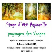 Stage d\'aquarelle