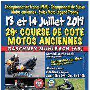 Course de côte de motos anciennes du Gaschney