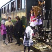 Le train des animaux d\'Halloween