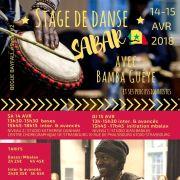 Stage intensif de Sabar avec Bamba Guéye N°2