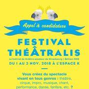Festival théÂtralis : Candidature