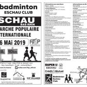 3ème Marche populaire internationale à Eschau 2019
