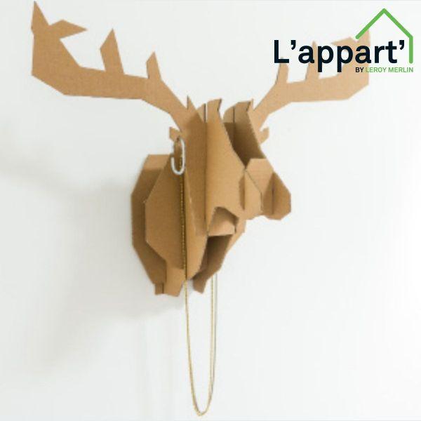 Assez Atelier création : fabriquer un trophée tête de cerf - Strasbourg  XA62
