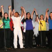Masterclass de chant Gospel au Mont Sainte Odile