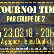 Tournoi Time\'s up