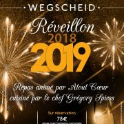 Reveillon de la Saint-Sylvestre 2018-2019 à Wegscheid - Maison du Pays