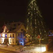 Illumination du sapin de Noël à Sainte-Croix-aux-Mines