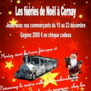 Les Féeries de Noël des Vitrines de Cernay.com !