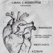 Inhumate + SCD + Mercyless & Azziard