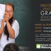 Projection du Film Grandir - Enfants du Mékong