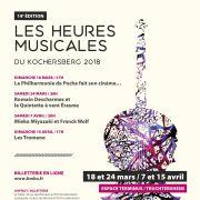 Les Heures Musicales du Kochersberg : La Philharmonie de Poche fait son cinéma…
