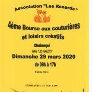 Bourse aux couturières et loisirs créatifs à Chalampé