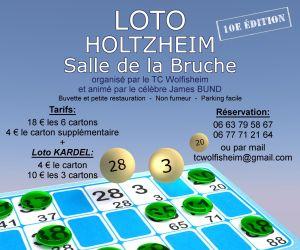 Loto Bingo Holtzheim - animé par James Bund