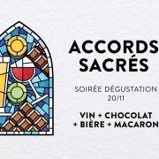 Accords sacrés - soirée dégustation vins, chocolats & macarons