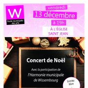 Concert de Noël de l\'école des arts