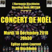 Concert de Noël de l\'Harmonie Bischheim