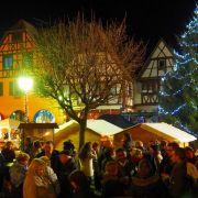 Noël 2020 à Dambach-la-Ville : Marché de Noël