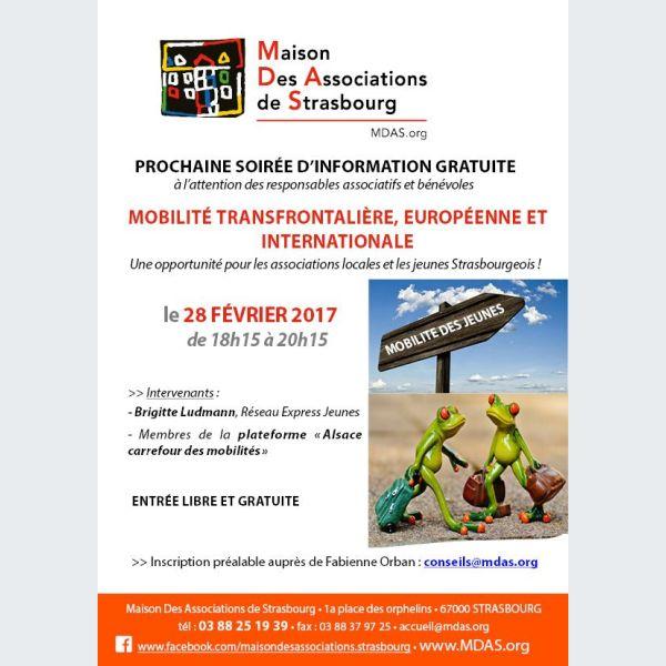 soir 233 e d information mobilit 233 europ 233 enne et internationale des jeunes strasbourg