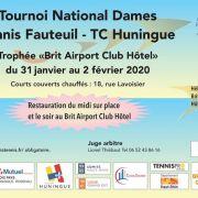 Tournoi national dames - Tennis fauteuil