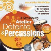 Atelier de percussions Africaine et détente