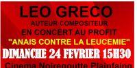 leo greco - concert de soutien anais contre la leucemie