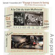 Soirée Swing à la Cité du Train