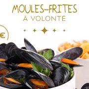 Moules-Frites à volonté !