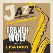 Franck Wolf invite Lisa Doby et Acoustic Five