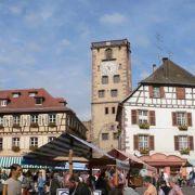 Marché aux puces du patrimoine à Ribeauvillé