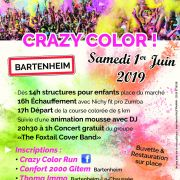 Crazy Color Run + Concert Gratuit