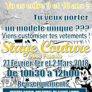 Stage Couture 9-18 ans