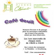 Café-deuil : rencontre mensuelle