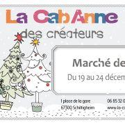 Le marché de Noël de La CabAnne des créateurs