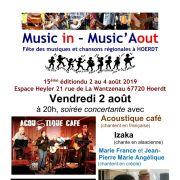 Festival Music in - Music\'Aout - Soirée concertante