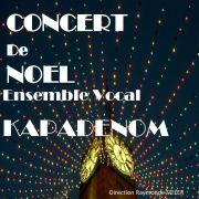 Concert de Noël - ensemble vocal Kapadenom