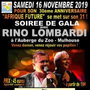 Soirée de gala avec Rino Lombardi